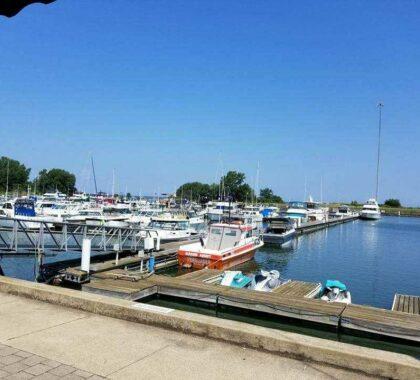 Dock at Geneva Marina