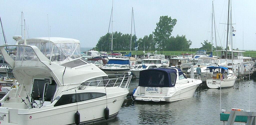 Boats at Geneva Marina