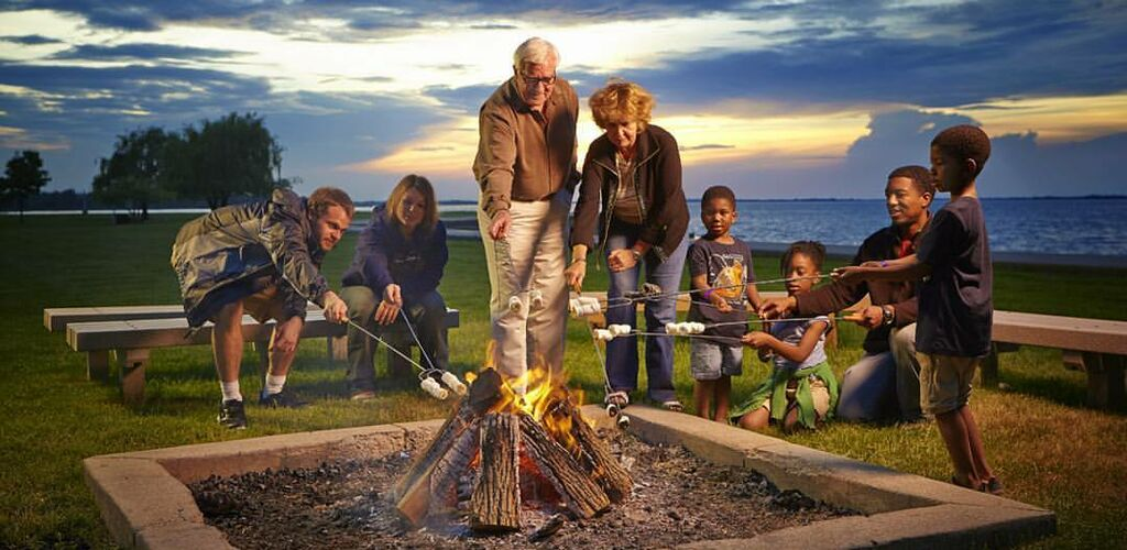 Family Reunion Bonfire